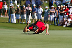 DORAL, FL. - Cailo Villegas during final round play at the 2009 World Golf Championships CA Championship at Doral Golf Resort and Spa in Doral, FL. on March 15, 2009