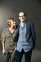 Nicci Gerrard and Sean French, husband and wife writers who write under the name of Nicci French    at The Edinburgh International Book Festival   . Credit Geraint Lewis