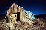 A collapsing shed in the semi-ghost town of Goldfield, Nevada
