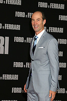"""LOS ANGELES - NOV 4:  Darin Cooper at the """"Ford v Ferrari"""" Premiere at TCL Chinese Theater IMAX on November 4, 2019 in Los Angeles, CA"""