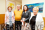Supporting the Churchill Variety Show in Ballyroe Hotel on Sunday evening<br /> L to r: Angela Nolan (Fenit), Eugene, Tracy and Margaret O'Sullivan (Kilfenora).