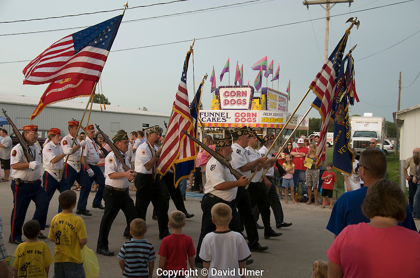 Bond County, Illinois fair and parade
