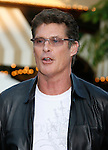 "Actor David Hasselhoff arrives at the Premiere of Columbia Pictures' ""Step Brothers"" at the Mann Village Theater on July 15, 2008 in Los Angeles, California."