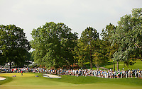 Photography of the Quail Hollow Championship golf tournament 2009. The event, formerly called the Wachovia Championship, is a top event on the PGA Tour, attracting such popular golf icons as Tiger Woods, Vijay Singh and Bubba Watson. Photo from the first round in the Quail Hollow Championship golf tournament at the Quail Hollow Club in Charlotte, N.C., Thursday, April 30, 2009.