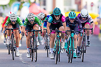 Picture by Alex Whitehead/SWpix.com - 28/05/2018 - Cycling - OVO Energy Tour Series Women's Race - Round 6: Stevenage - Team OnForm's Anna Henderson wins.