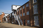 Converted old industrial maltings  building, Snape, Suffolk, England