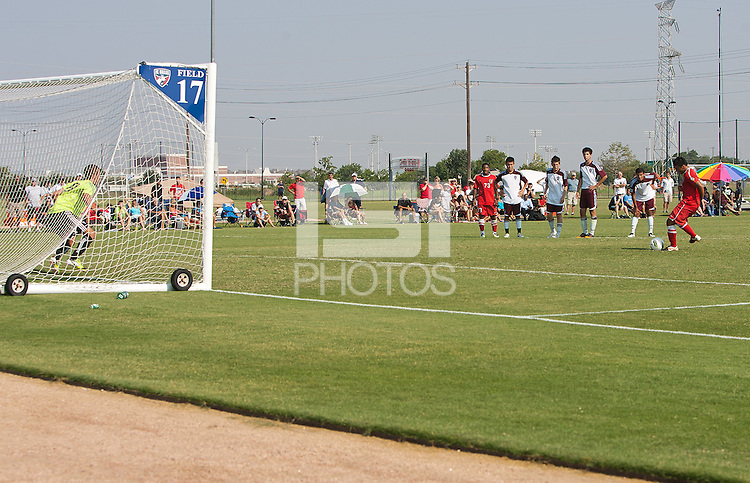 Frisco - Texas, Thursday, June 28, 2012: U17/18 USDA play off games.