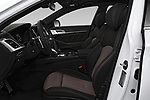 Front seat view of a 2018 Genesis G80 Sport 4 Door Sedan front seat car photos