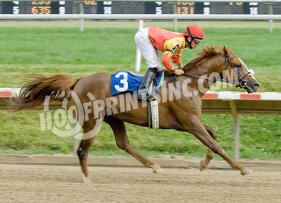 Rich Frynchman winning at Delaware Park on 6/21/11