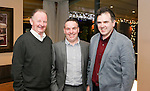 Pictured at the Limerick Sports Partnership Sports Awards were: Eamon Enright, Tom O'Connell &amp; Killian O'Leary<br /> Picture  Credit Brian Gavin Press 22