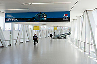 NEW YORK, NY - MAY 12: View of the Jetblue terminal exit at Terminal 5 of John F. Kennedy International Airport on May 12, 2020 in New York, NY.(Photo by Pablo Monsalve / VIEWpress via Getty Images)
