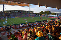 A general view during day one of the 2019 HSBC World Sevens Series Hamilton  at FMG Stadium in Hamilton, New Zealand on Saturday, 26 January 2019. Photo: Dave Lintott / lintottphoto.co.nz
