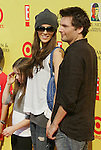 "SANTA MONICA, CA. - November 16: Actress Kate Beckinsale and Director Len Wiseman arrive at the 11th Anniversary Of P.S. Arts ""Express Yourself 2008"" at the Barker Hanger at the Santa Monica Airport on November 16, 2008 in Santa Monica, California."