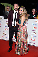 LONDON, UK. January 22, 2019: Danny Dyer &amp; Kellie Bright at the National TV Awards 2019 at the O2 Arena, London.<br /> Picture: Steve Vas/Featureflash