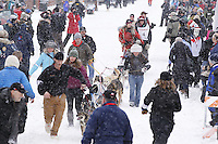 William Pinkham March 3, 2012 Ceremonial Start of Iditarod 2012 in Anchorage, Alaska.
