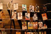 Rwanda Kigali Genocide memorial , during the genocide in april 1994 nearly 1 Billion Tutsi were massacred by Hutu murder, photos of victims /Ruanda Kigali , Genozid Gedaenkstaette, Ausstellung und Mahnmal fuer die Opfer des Genozid  , waehrend des Voelkermord wurden ca. 1 Million Tutsi im April 1994 von Hutu Milizen erschlagen , Fotos von ermordeten Tutsi