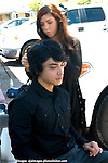 AJ Alexander - Make Up Artist Jessica Fierro in motion working on Jashua Staich (Gregory) on the set of Mind Over Matter on Friday May 13, 2011..Photo by AJ Alexander