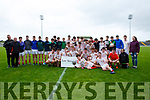 Lee Strand U16 County District Championship Football Cup Final East Kerry V West Kerry. winners East Kerry  at Austin Stacks Park on Sunday