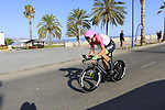 Mitchell Docker (AUS) EF-Drapac-Cannondale during Stage 1 of the La Vuelta 2018, an individual time trial of 8km running around Malaga city centre, Spain. 25th August 2018.<br /> Picture: Eoin Clarke | Cyclefile<br /> <br /> <br /> All photos usage must carry mandatory copyright credit (© Cyclefile | Eoin Clarke)
