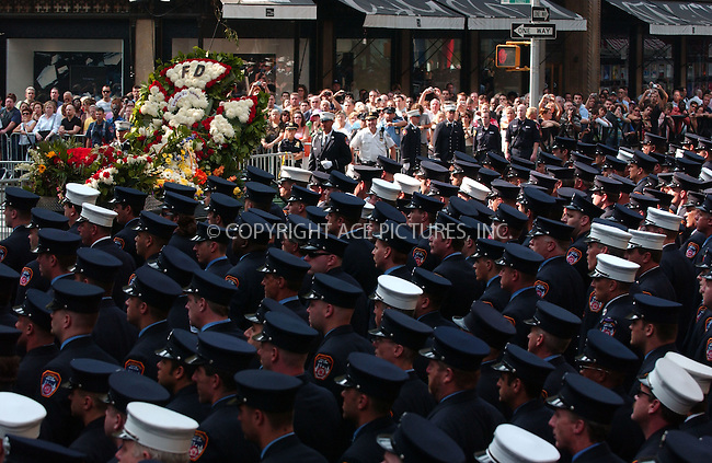 WWW.ACEPIXS.COM . . . . . ....August 24 2007, New York City....A funeral was held at St Patrcicks Cathedral on 5th Avenue for firefighter Robert Beddia, 53, who died last week at a fire at the Deutche Bank build at the World Trade Center site in downtown Manhattan.....Please byline: KRISTIN CALLAHAN - ACEPIXS.COM.. . . . . . ..Ace Pictures, Inc:  ..(646) 769 0430..e-mail: info@acepixs.com..web: http://www.acepixs.com