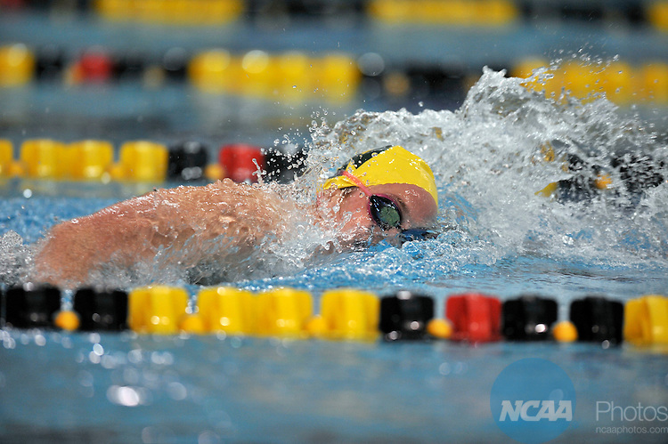 15 MAR 2008:  Division II Swimming and Diving Competition held at the Mizzou Aquatic Center in Columbia, MO..John Tully/NCAA Photos