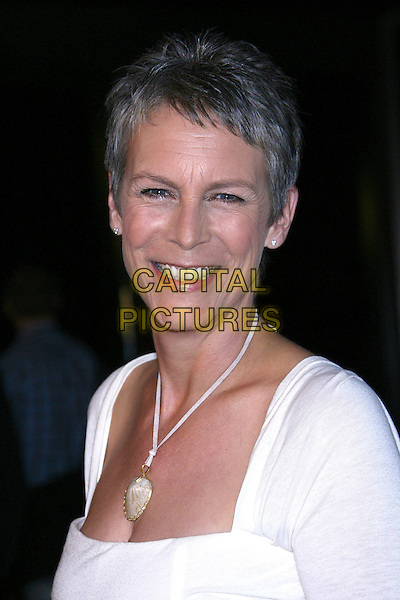"JAIME LEE CURTIS.""For Your Consideration"" Los Angeles Premiere - Arrivals held at the Director's Guild, Hollywood, California , USA,13 November 2006..portrait headshot white dress necklace jamie eye contact eyes to camera.Ref: ADM/ZL.www.capitalpictures.com.sales@capitalpictures.com.©Zach Lipp/AdMedia/Capital Pictures."