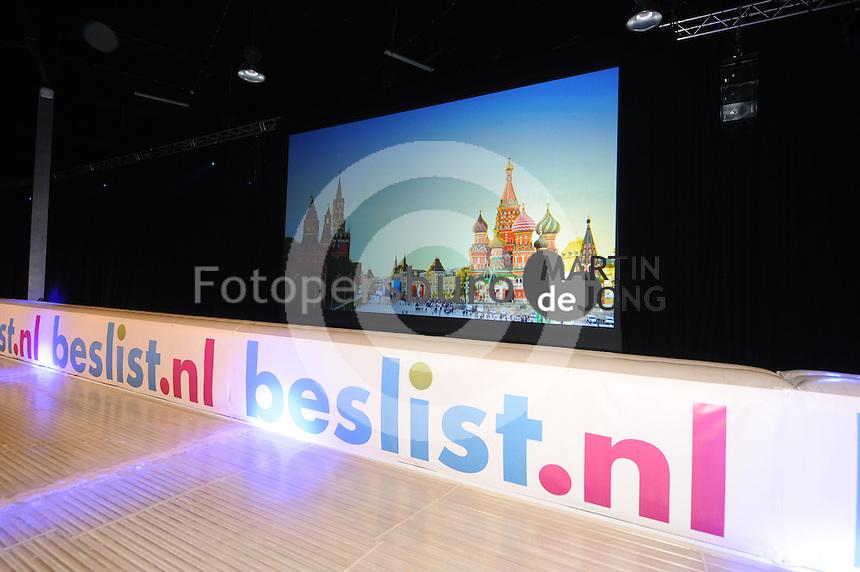 SCHAATSEN: ZAANDAM: 08-10-2013, Taets art Gallery, Perspresentatie Team Beslist.nl, ©foto Martin de Jong