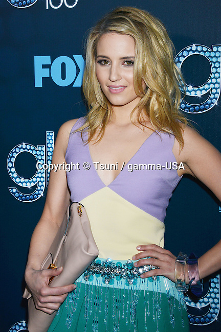 Dianna Agron  at the GLEE 100th Episode at the Chateau Marmont in Los Angeles.