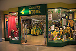 Canary store football shop for Norwich City FC, Norwich, Norfolk, England