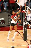 27 October 2005: Franci Girard during Stanford's 3-0 win over Oregon at Maples Pavilion in Stanford, CA.