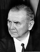 "Associate Justice of the United States Supreme Court William J. Brennan, Jr., photographed at the Supreme Court in Washington, D.C. on Monday, April 24, 1972..Credit: Benjamin E. ""Gene"" Forte / CNP"