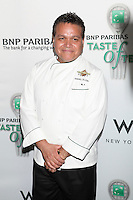 Chef Angel Elon of Baking By Design attends the 13th Annual 'BNP Paribas Taste of Tennis' at the W New York.  New York City, August 23, 2012. © Diego Corredor/MediaPunch Inc. /NortePhoto.com<br />