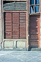 Walk Street, El Bulevar, Cienfuegos, Cuba, Republic of Cuba, , pictures of front door entrances