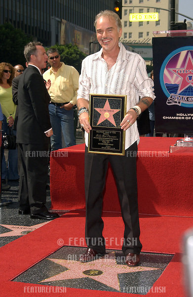 Actor BILLY BOB THORNTON at ceremony on Hollywood Boulevard where he was honored with the 2,265th star on the Hollywood Walk of Fame..October 7, 2004