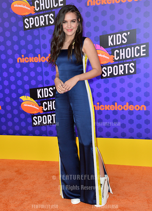 Lilimar at the Nickelodeon Kids' Choice Sports Awards 2018 at Barker Hangar, Santa Monica, USA 19 July 2018<br /> Picture: Paul Smith/Featureflash/SilverHub 0208 004 5359 sales@silverhubmedia.com