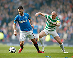 15.04.2018 Celtic v Rangers scottish cup SF:<br /> Daniel Candeias and Scott Brown