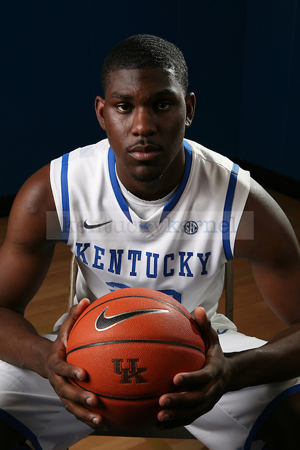 Alex Poythress at basketball photo day in Lexington, Ky., on Monday, September 17, 2012. Photo by Tessa Lighty | Staff