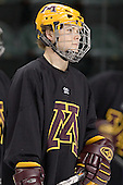 RJ Anderson - The University of Minnesota Golden Gophers took part in their morning skate at Ralph Engelstad Arena in Grand Forks, North Dakota, on Saturday, December 10, 2005.