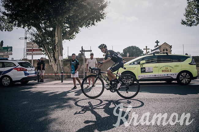 Johan Esteban Chaves (COL/ORICA-Scott) riding to the teambus after the stage<br /> <br /> 104th Tour de France 2017<br /> Stage 19 - Embrun &rsaquo; Salon-de-Provence (220km)