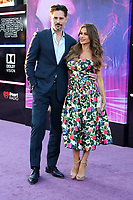 """LOS ANGELES - MAR 26:  Joe Manganiello, Sofia Vergara at the """"Ready Player One"""" Premiere at TCL Chinese Theater IMAX on March 26, 2018 in Los Angeles, CA"""