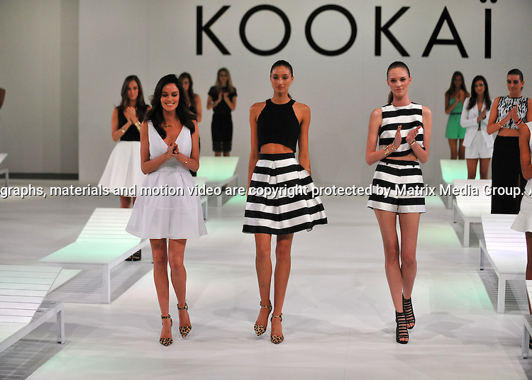 20th August, 2014 SYDNEY AUSTRALIA NON<br /> EXCLUSIVE <br /> Kookai show at Carriageworks<br /> <br /> *No internet without clearance*.MUST CALL PRIOR TO USE +61 2 9211-1088. Matrix Media Group.Note: All editorial images subject to the following: For editorial use only. Additional clearance required for commercial, wireless, internet or promotional use.Images may not be altered or modified. Matrix Media Group makes no representations or warranties regarding names, trademarks or logos appearing in the images.