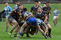 College Rugby - St. Patrick's College, Silverstream v Rongotai College at St. Patrick's College, Silverstream, Upper Hutt, New Zealand on Wednesday 13 June 2018.<br /> Photo by Masanori Udagawa. <br /> www.photowellington.photoshelter.com