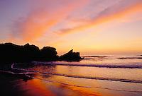 Great Britain, England, Devon, Whitsand Bay: Sunset | Grossbritannien, England, Devon, Whitsand Bay: Sonnenuntergang