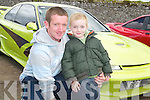 Declan and Dara Culhane from Castleisland had a great time at Tralee Racecourse on Monday at the Monster Car Show.
