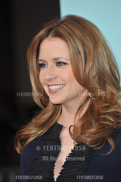 "Jenna Fischer at the world premiere of ""He's Just Not That Into You"" at the Grauman's Chinese Theatre, Hollywood..February 2, 2009  Los Angeles, CA.Picture: Paul Smith / Featureflash"
