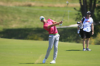 Alexander Bjork (SWE) on the 1st fairway during Round 1 of the HNA Open De France at Le Golf National in Saint-Quentin-En-Yvelines, Paris, France on Thursday 28th June 2018.<br /> Picture:  Thos Caffrey | Golffile