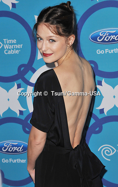 Melissa Benoist at the FOX Fall Eco Casino 2013 at the Bungalow in Santa Monica.