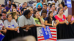 Crowds of people came to Sacramento City College for a Get Out The Vote Rally with Hillary Clinton in Sacramento on Sunday, June 5, 2016.  Photo/Victoria Sheridan 2016.