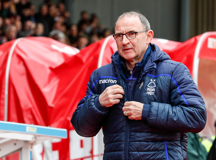 Nottingham Forest's manager Martin O'Neill<br /> <br /> Photographer Andrew Kearns/CameraSport<br /> <br /> The EFL Sky Bet Championship - Nottingham Forest v Bolton Wanderers - Sunday 5th May 2019 - The City Ground - Nottingham<br /> <br /> World Copyright © 2019 CameraSport. All rights reserved. 43 Linden Ave. Countesthorpe. Leicester. England. LE8 5PG - Tel: +44 (0) 116 277 4147 - admin@camerasport.com - www.camerasport.com