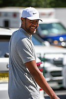 Tony Finau (USA) makes his way to the course before round 2 of the 2019 Tour Championship, East Lake Golf Course, Atlanta, Georgia, USA. 8/23/2019.<br /> Picture Ken Murray / Golffile.ie<br /> <br /> All photo usage must carry mandatory copyright credit (© Golffile | Ken Murray)